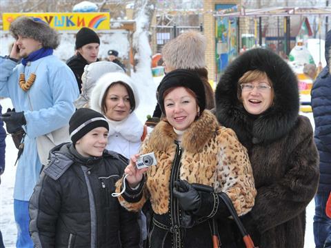 В Самаре прошел фестиваль «Славянская зима»
