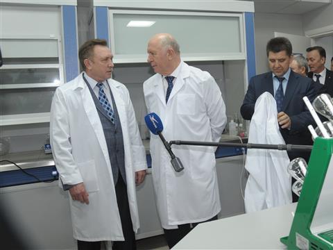 Николай Меркушкин с рабочим визитом посетил Чапаевск