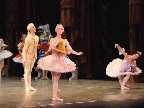 """Фестиваль классического балета открылся концертом """"Шелест-гала"""""""
