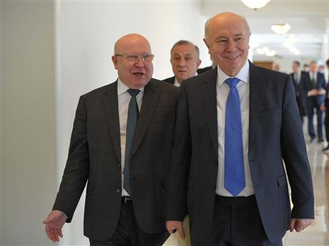 Николай Меркушкин на заседании Совета ПФО в Оренбурге