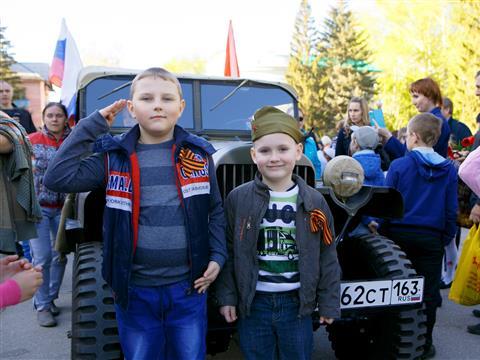 """""""Газпром"""" провел """"Эстафету Вечного огня"""" в Самарской области"""