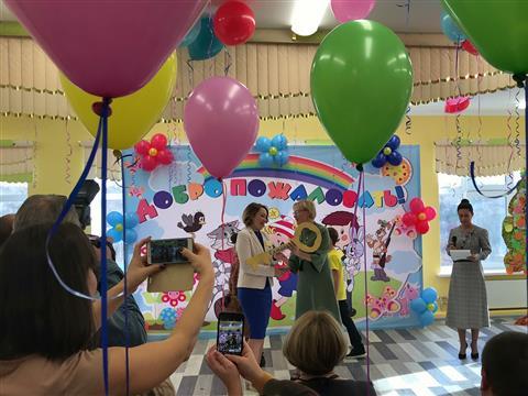 Вмикрорайоне Крутые Ключи открылся новый детский сад на350 мест