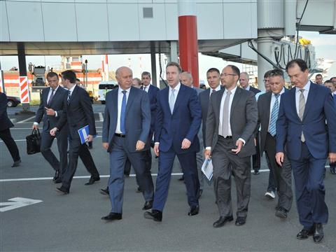 Игорь Шувалов и Николай Меркушкин осмотрели новый терминал международного аэропорта Курумоч