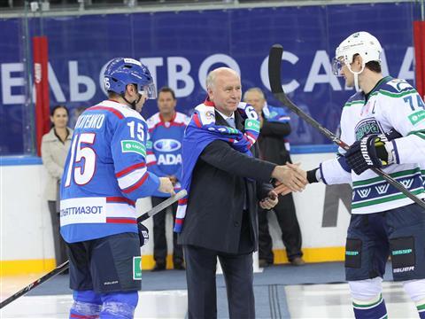 Николай Меркушкин дал старт новому сезону КХЛ в Тольятти