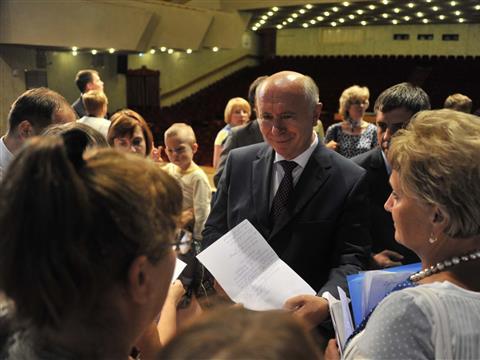 Николай Меркушкин встретился с жителями Автозаводского района Тольятти