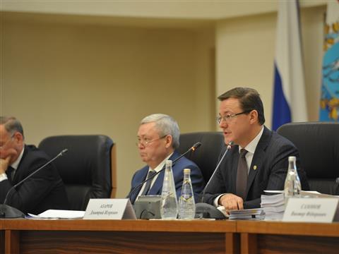 Расширенное заседание областного правительства