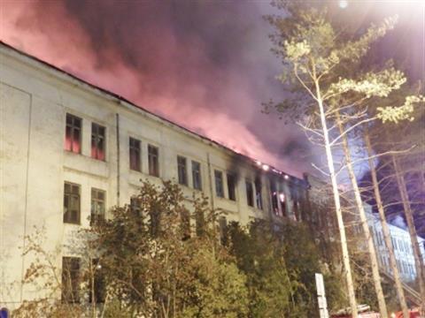 В Самаре сгорел Дом печати