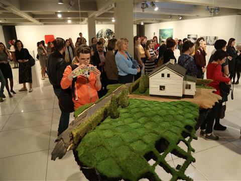 В Самаре работает выставка современного финского искусства