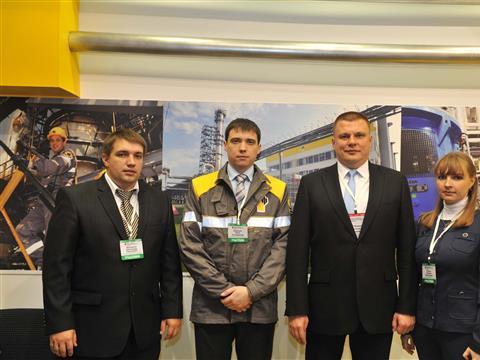Сызранский НПЗ привез на выставку дизель стандарта Евро-5