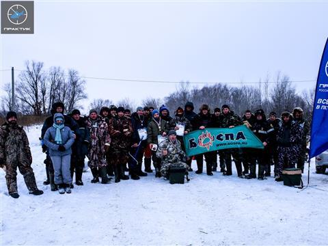 На Черновском водохранилище прошли зимние соревнования по ловле на мормышку со льда