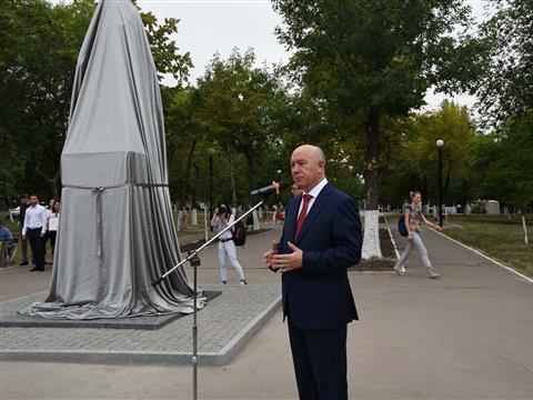 Николай Меркушкин принял участие в праздничных мероприятиях 2 сентября в Новокуйбышевске