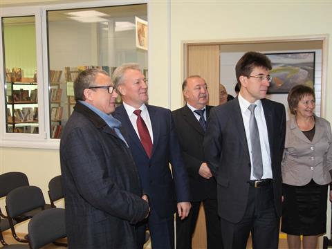 В Волжском районе открыта новая межпоселенческая библиотека