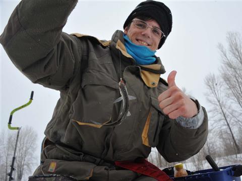Под Самарой прошли последние в этом сезоне соревнования по зимней рыбалке