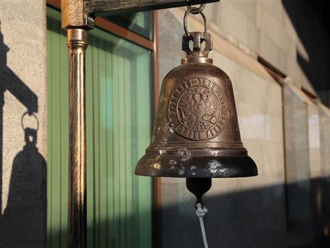 На ж/д вокзале Самары установили антикварный станционный колокол