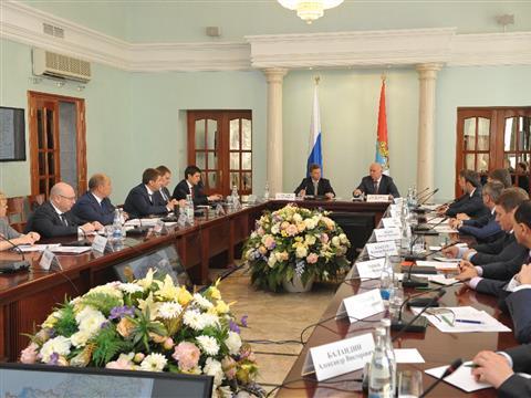 Максим Соколов и Николай Меркушкин провели совещание в Самаре
