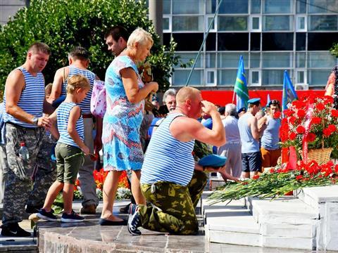 Празднование Дня ВДВ в Самаре