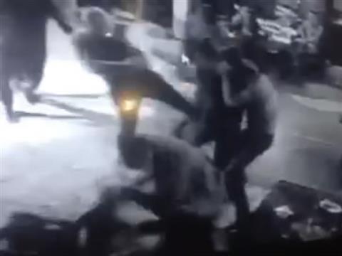 Убийство экс-полицейского в самарском кафе попало на видео