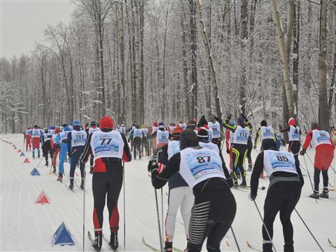 В Самаре прошел лыжный марафон, посвященный Ирине Складневой