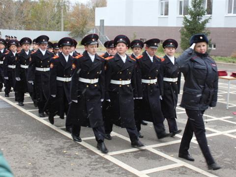 В Самарском кадетском корпусе 50 воспитанников посвятили в кадеты
