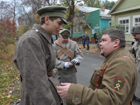 В Самаре состоялась реконструкция событий, охвативших город в 1918 году