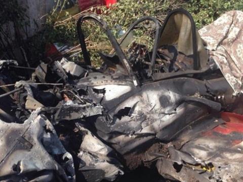 Под Нефтегорском разбился ЯК-52, погибли два человека