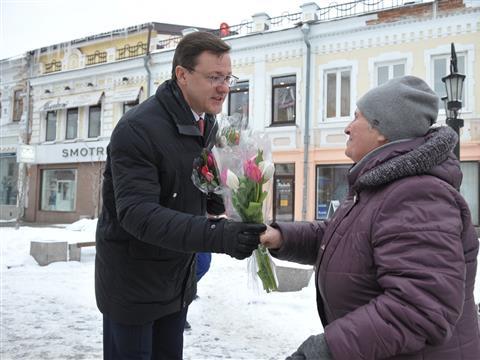 Глава региона устроил приятный сюрприз 8 Марта