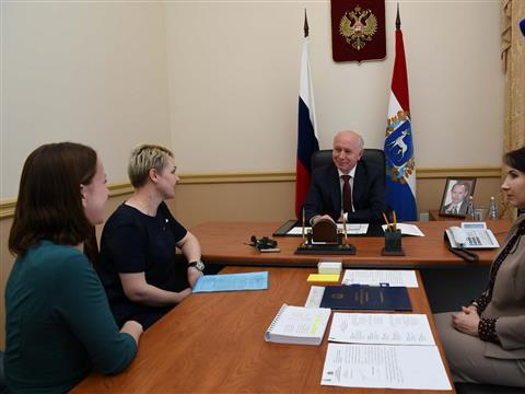 Николай Меркушкин провел личный прием граждан