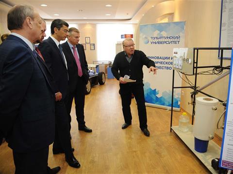 Владимир Гутенев посетил Тольяттинский государственный университет