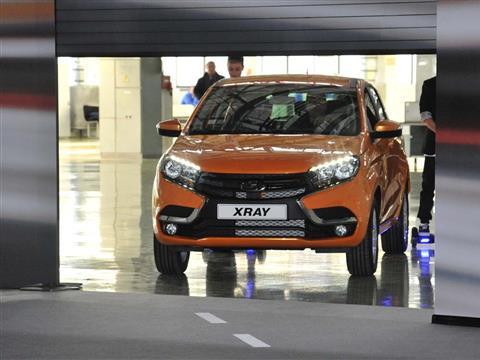 Дан старт серийному производству Lada X-RAY
