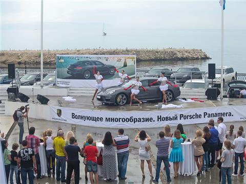 В Тольятти представили новый Porsche Panamera