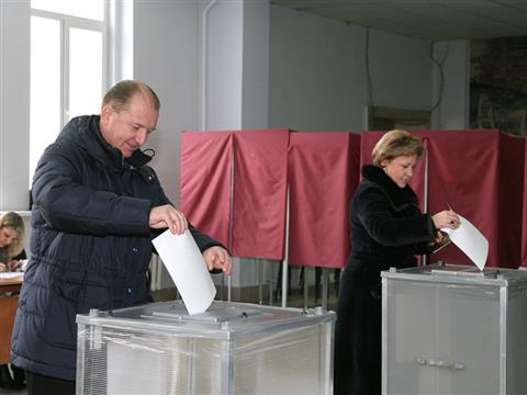 Владимир Артяков принял участие в выборах 4 марта