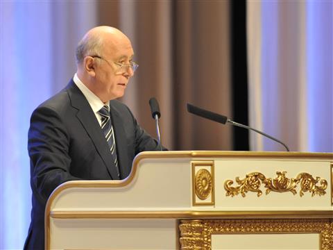 Николай Меркушкин огласил ежегодное послание депутатам Самарской губернской думы и жителям региона