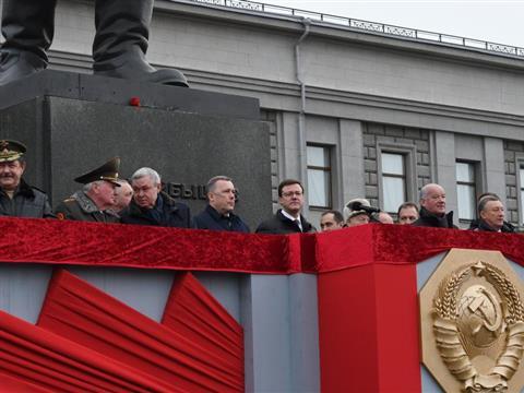 Самарский Парад Памяти 7 ноября 2017 года