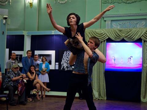 """В Самаре состоялась танцующая """"Ночь в музее"""""""