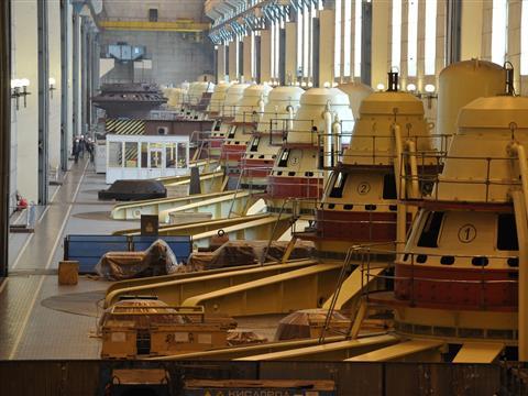 Жигулевская ГЭС приступает к демонтажу и модернизации последнего гидроагрегата