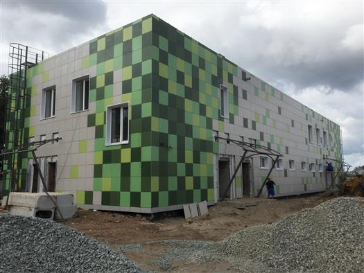 Строительство тренировочной площадки №2