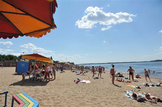 Официально восемь пляжей Самары будут открыты 15 июня