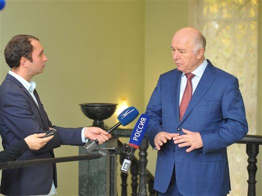 """Николай Меркушкин: """"Присвоение статуса ТОР имеет колоссальное значение для всего региона"""""""