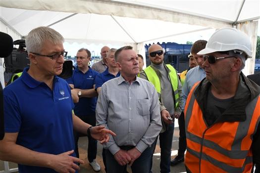Комиссия Росавтодора положительно оценила ход дорожных работ в регионе