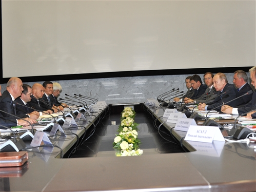 Владимир Путин провел совещание по социально-экономическому развитию Самарской области