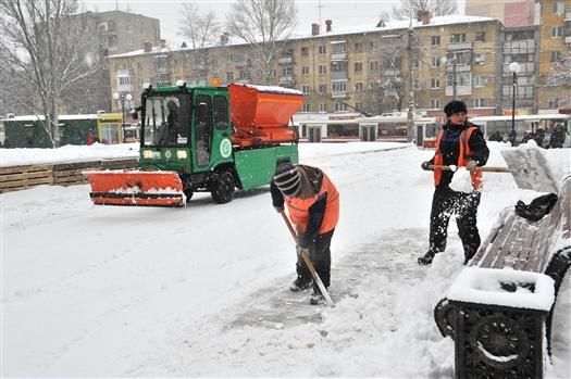 Управляющие компании, не убирающие снег, были вызваны в прокуратуру