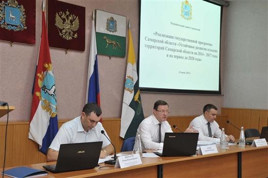 Глава региона провел в Сергиевске совещание по устойчивому развитию сельских территорий