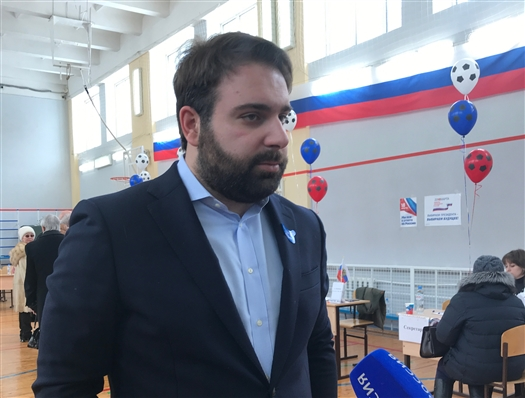 Международный эксперт Константино Христоянис посетил избирательный участок в Самаре