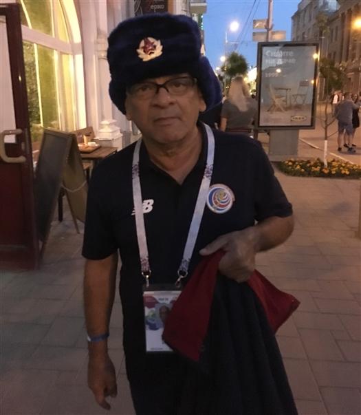 """Болельщик из Коста-Рики: """"В Самаре очень приятные люди"""""""
