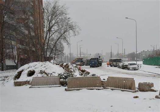 Развязку на пересечении Московского шоссе и ул. Луначарского введут в эксплуатацию 15 мая