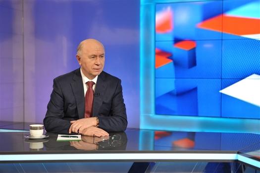 """Николай Меркушкин: """"Работы на стадионе """"Самара Арена"""" ведутся очень интенсивно"""""""