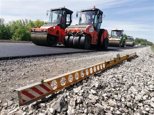 На автомобильной дороге Самара - Бугуруслан начаты основные ремонтные работы