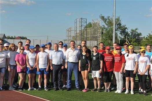 Глава региона открыл спартакиаду работающей молодежи в Исаклинском районе