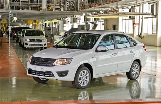 В Тольятти стартовало производство Lada Granta liftback