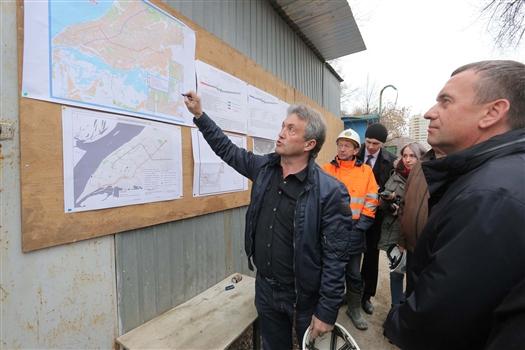 """Станцию метро """"Алабинская"""" могут пустить по постоянной схеме к концу 2018 года"""